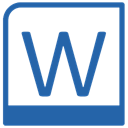 word SteelBlue icon