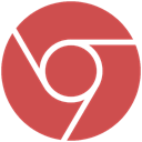 google, chrome IndianRed icon