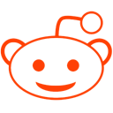 Reddit Black icon
