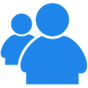 Messenger, Live DodgerBlue icon
