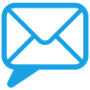 Email, Chat DodgerBlue icon