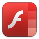 Flash, adobe, player Firebrick icon