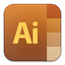 illustrator, adobe Sienna icon