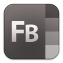 Builder, adobe, Flash DarkSlateGray icon
