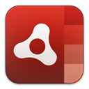 adobe, Air Firebrick icon