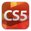 cs5, adobe, standard, Design Firebrick icon