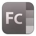 Flash, adobe, catalyst DimGray icon