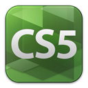 cs5, adobe, web, Premium DarkOliveGreen icon