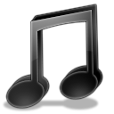 music DarkSlateGray icon