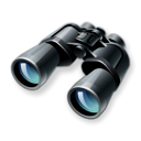 Binoculars, search, Find, zoom Black icon