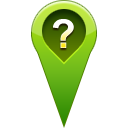 question, pin, location Icon