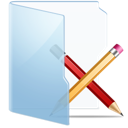 Applications, write, Pen GhostWhite icon