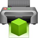 printer, replicator, 3d Gray icon