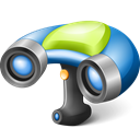 Scanner, 3d Black icon