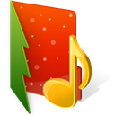music OrangeRed icon
