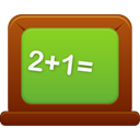 Blackboard YellowGreen icon