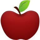 Apple DarkRed icon