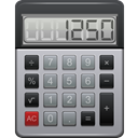 calculator DarkGray icon