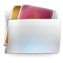 Folder, Pictures LightGray icon