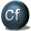 adobe, Coldfusion DarkSlateGray icon