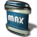 File, max Black icon
