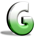 Groove, office Black icon