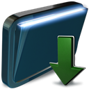 Downloads, Folder DarkSlateGray icon