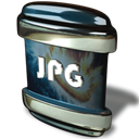 jpg, File Black icon