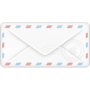 Closed, envelope WhiteSmoke icon