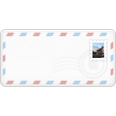 envelope, Stamp Snow icon