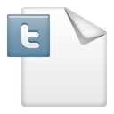 twitter, document WhiteSmoke icon