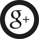 plus, google Black icon