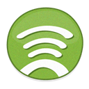 Spotfy YellowGreen icon