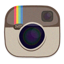 Instagram Silver icon