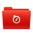 soda, red, new, Sites, Folder Firebrick icon