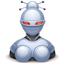 Robotess Black icon