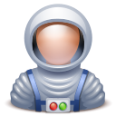 Astronaut Black icon