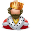 king Black icon