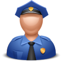 Officer Black icon