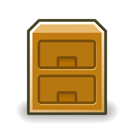 manager, File, system DarkGoldenrod icon