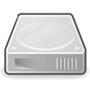 drive, harddisk Gainsboro icon