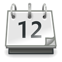 office, Calendar Gainsboro icon