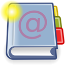 Address, new, Book Icon