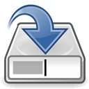 save, As, document Black icon