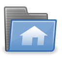 Home CornflowerBlue icon