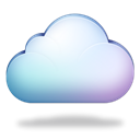 Cloud Black icon