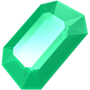 green, gem, Emerald, gemstone, precious, Stone, jewel MediumSeaGreen icon