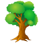 oak, Tree, flora, Forest, eco, nature, green, plant, wood, ecology Black icon