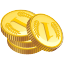 Money, credit, webshop, Finance, coin, financial, Price, buy, Currency, payment, Shop, sale, Cash, Business, shopping, ecommerce, Dollar Black icon