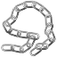 Chain, steel, Connections, chains Black icon